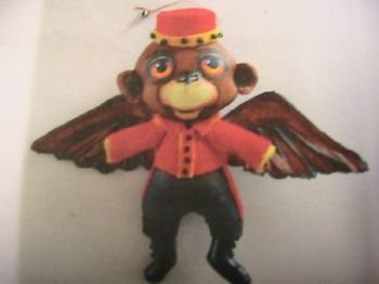 Flying Monkey Ornament