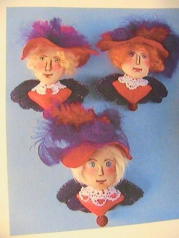 Red Hat Pindolls~Ornaments~Angels