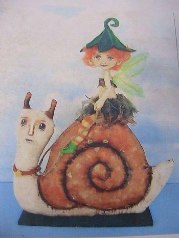 Fairy Riding Snail