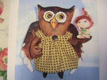 Ms Peach Owl & Tiny Fairy