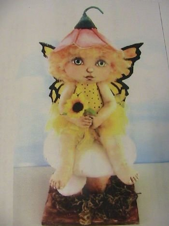 Tiny Fairy Hannah on Mushroom