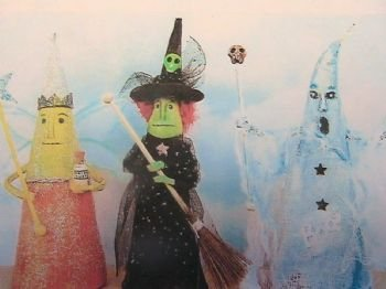 Witch, Ghost, Queen