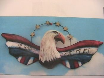 in God We Trust Eagle