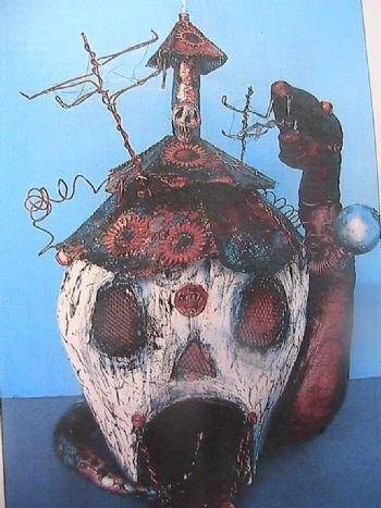 Snake House Skull