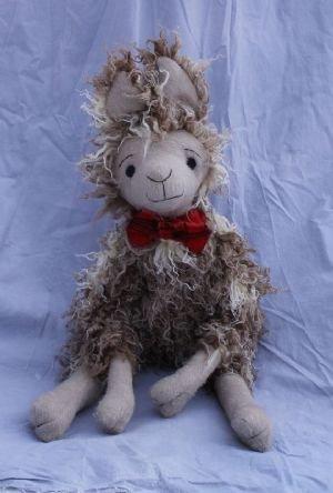 Fergus McTavish Scottish Llama