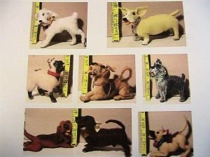 Mini-Mini 8 Dogs for 12-18 dolls