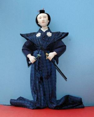 Samurai (accompanies Geisha by Edwina Sutherland)