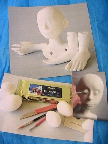 Sculpting a Doll in Air Dry Clay Class