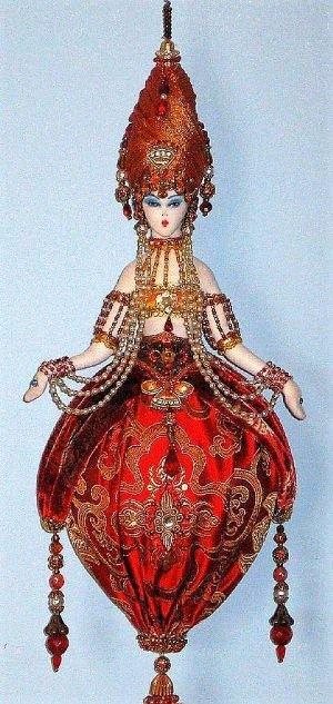 Art Deco Tassel Doll
