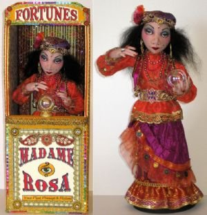 Madame Rosa Gypsy Fortune Teller & Booth