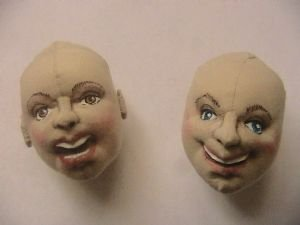 Make a Cloth Doll Head Smiling or Singing Tutorial