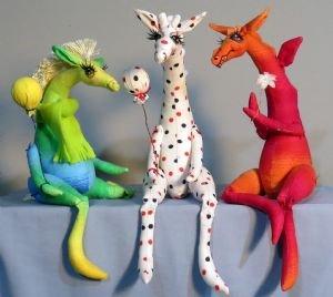 Whimpey Dragon~Giraffe~Horse
