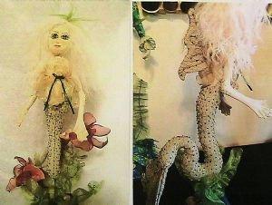 Mermaid Chorda Filum & Betta Fish