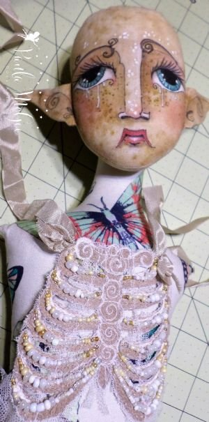 Ribcage Embroidery~Sew Corset