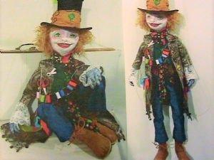Boho Hatter Marionette