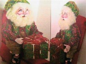 Santa Claus Wraps Gifts Class