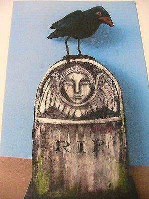R.I.P. Raven & Tombstone