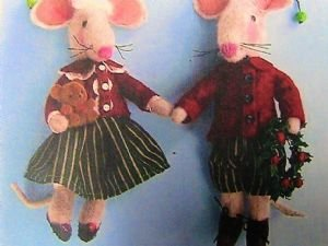 Mousey Ornament Pair