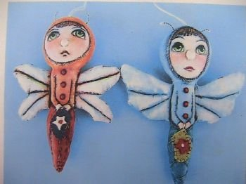More Bug Ornaments