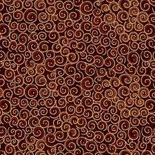 Spiral Metallic Brown