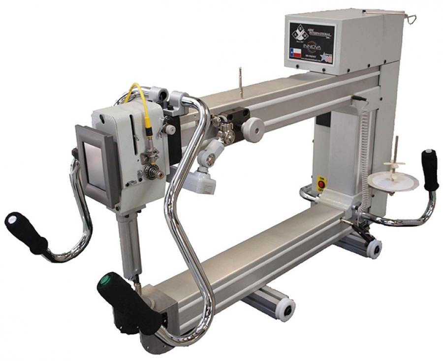 26 INNOVA  Longarm Quilting Machine Package