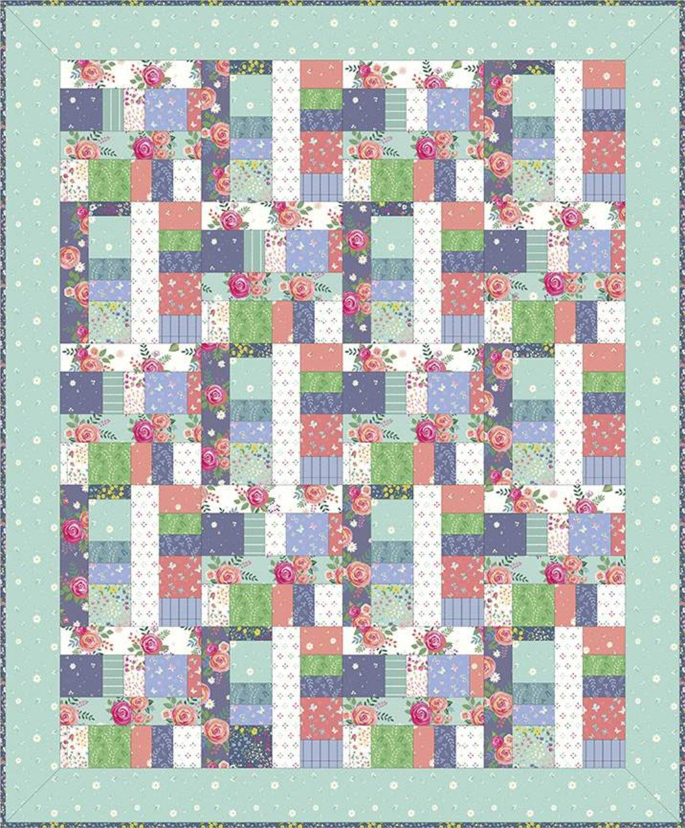 Two Sisters at Squirrel Hollow Farmersmarket Quilt Pattern