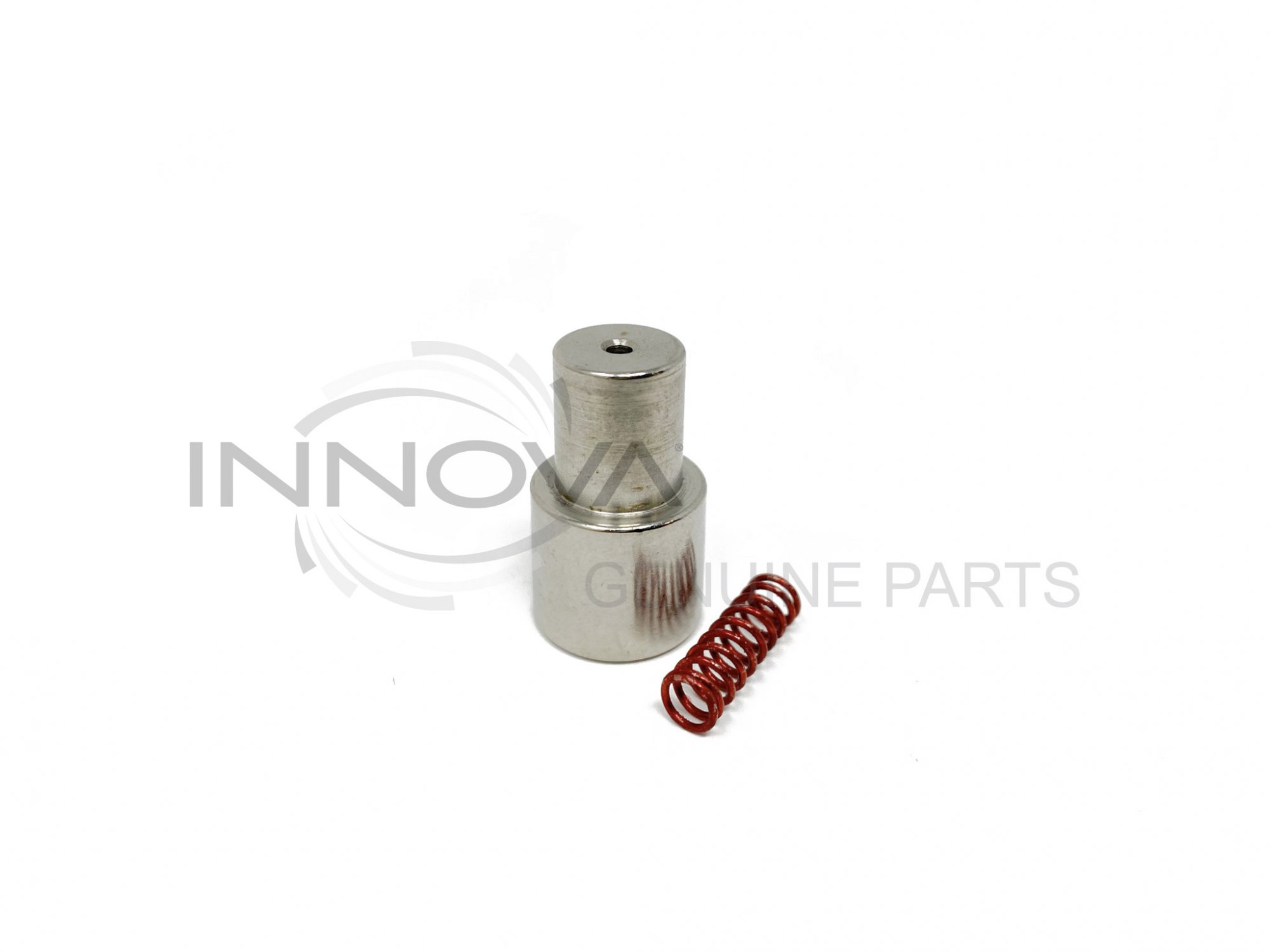 Steel Shank Adapter and Spring -Clear Plastic Feet