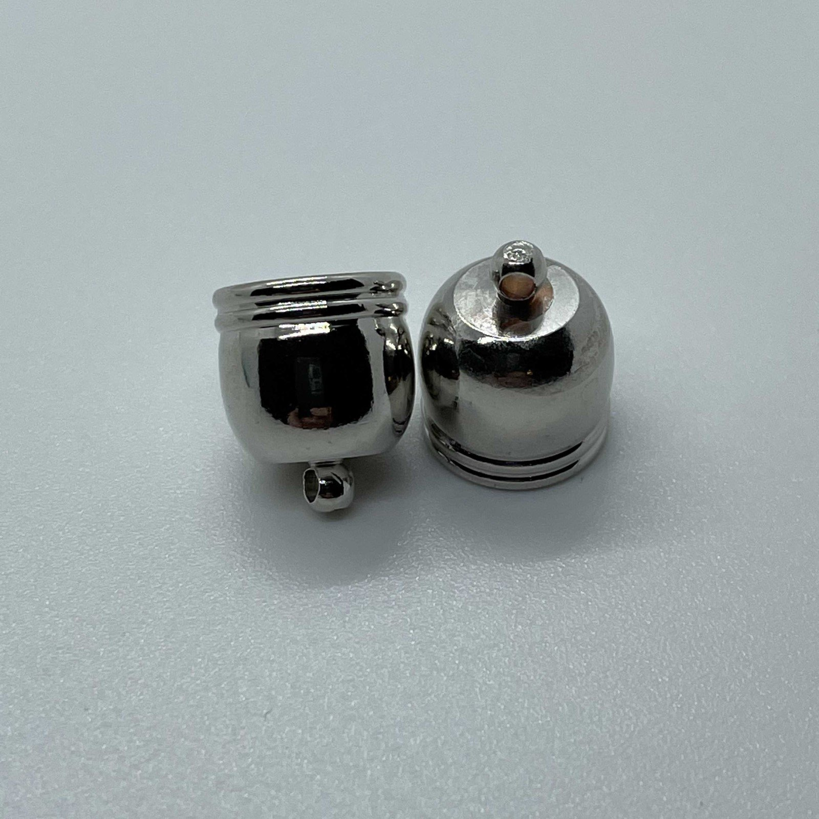 Cord End - End Cap 12x14mm w ID 10mm  (2 pieces/1 pair)