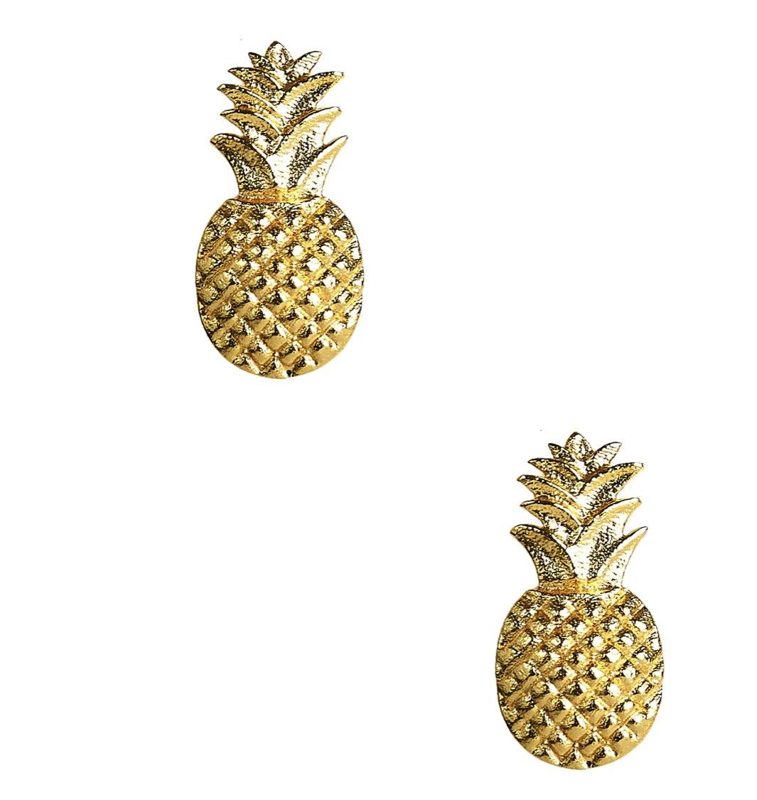 Pineapple Stud earrings