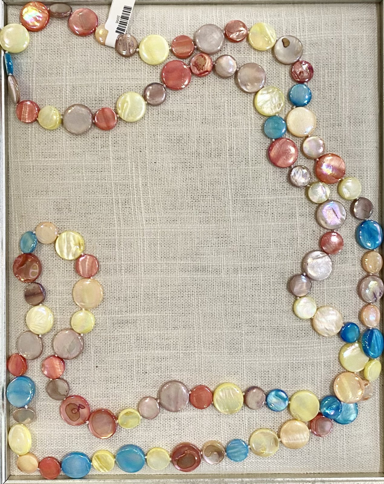 Mother of Pearl Necklace- Carnival
