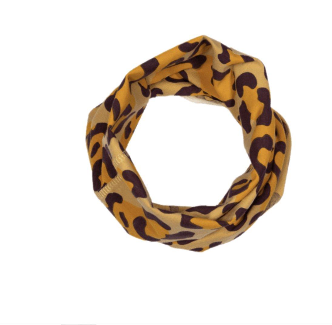 Multi way band leopard print