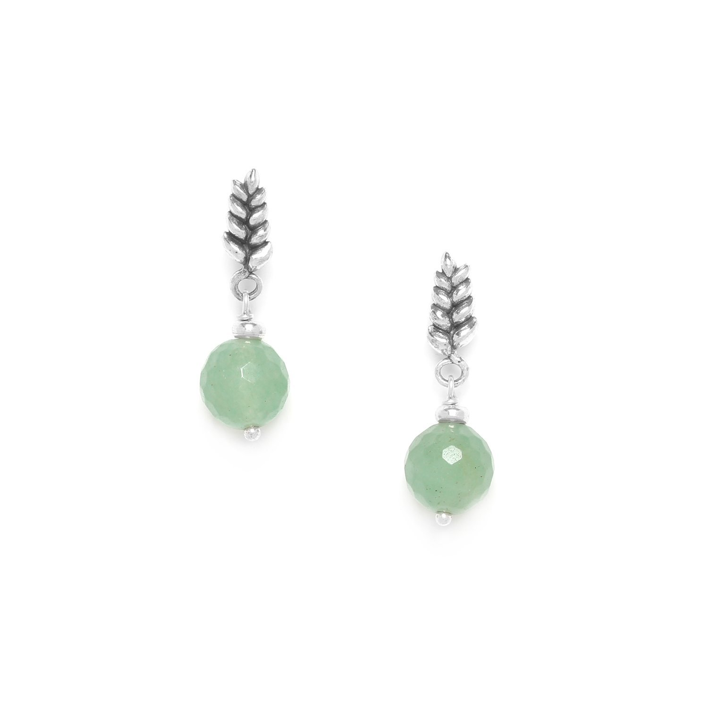 Aventurine Post earrings