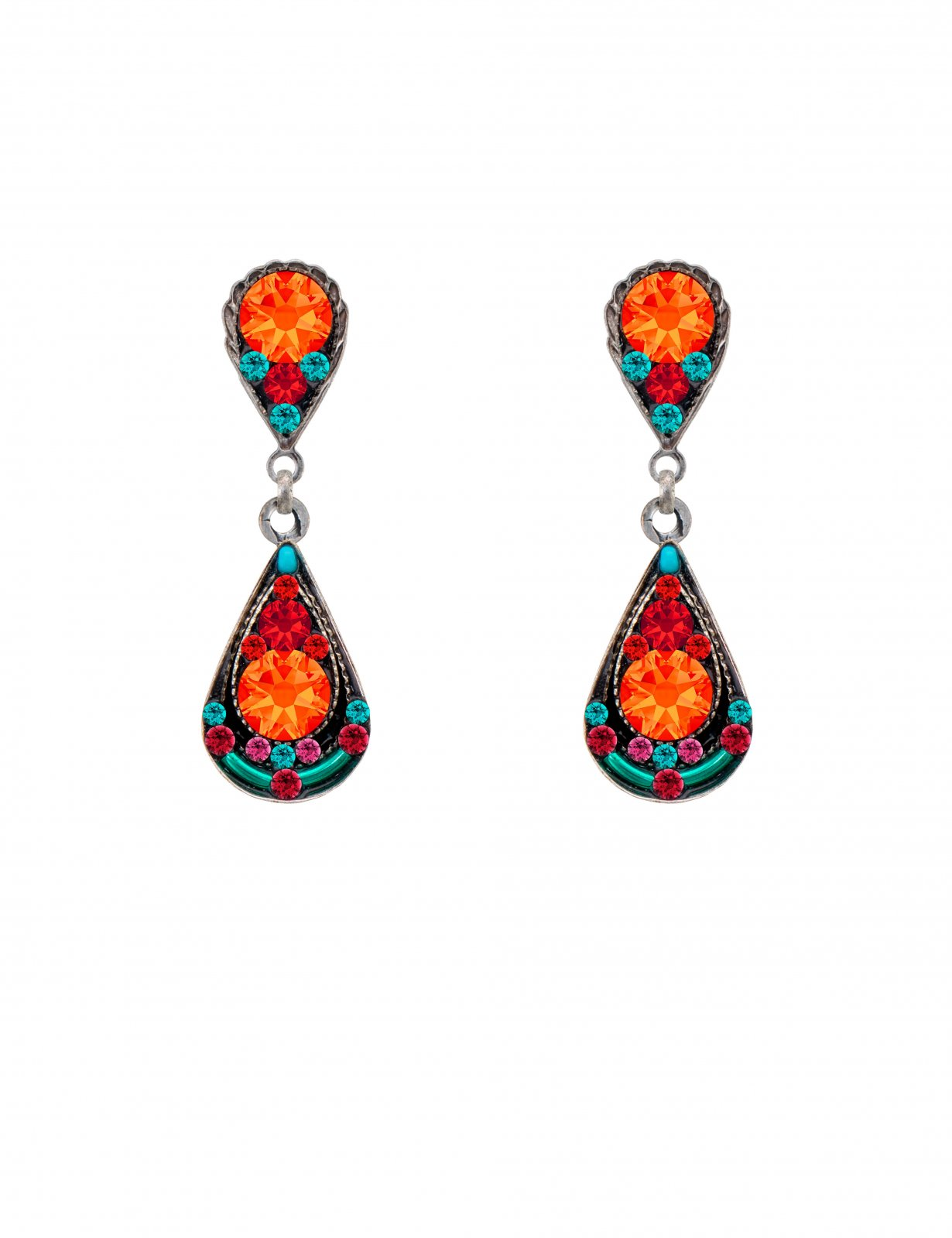 Sparkle Drop earring with post