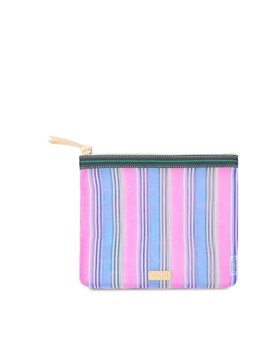 Large Slim pouch- Lisa