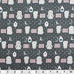 Black Owl - 100% Cotton 44