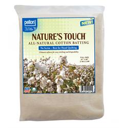 FB120 Pellon Nature's Touch Cotton Batting - 120