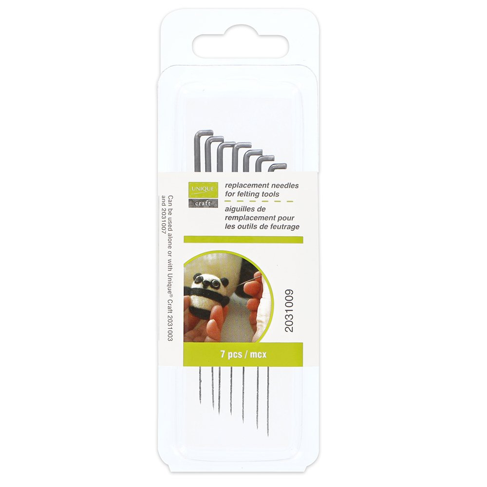 Replacement needles for felting tools