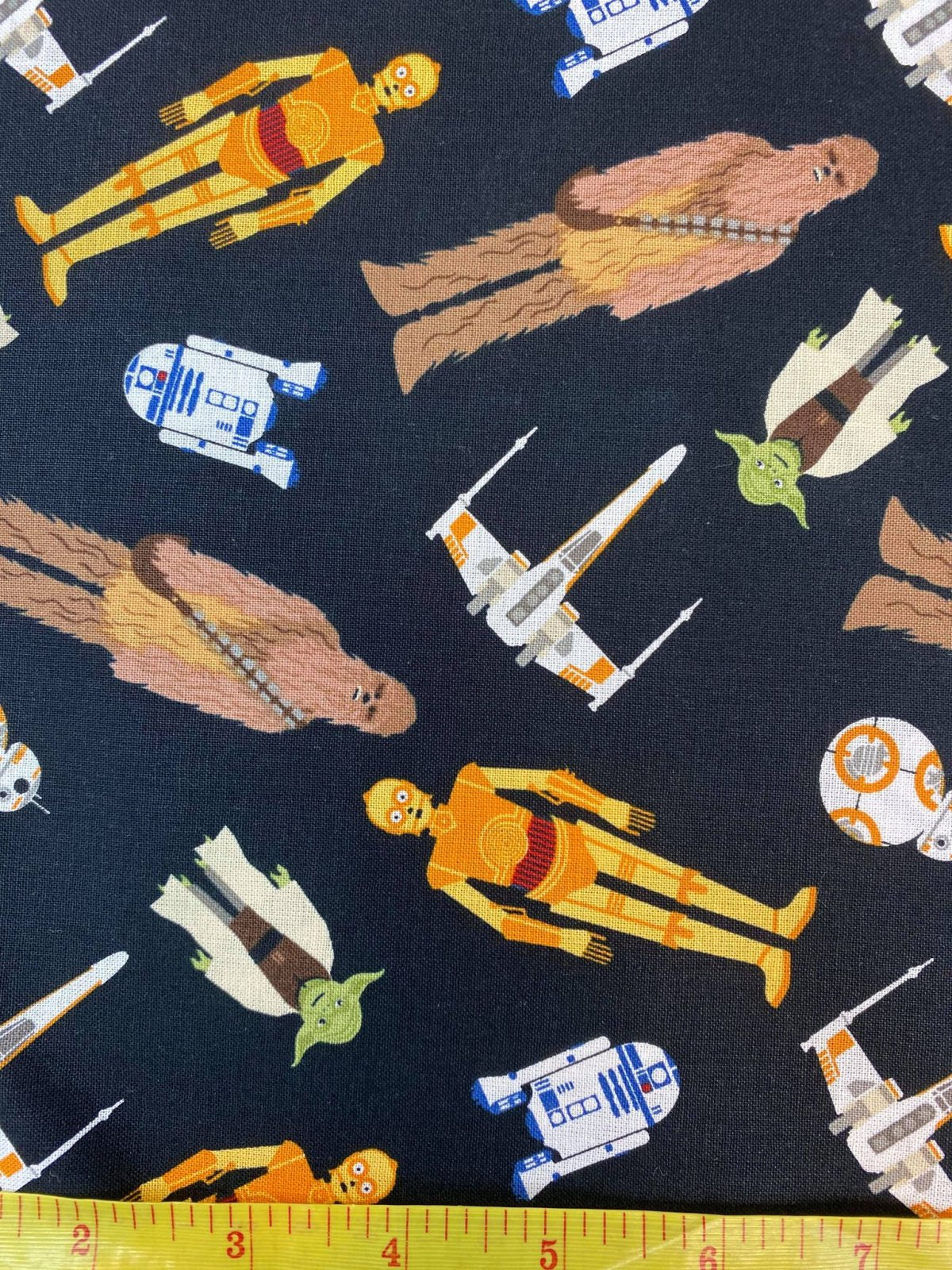 Star Wars - Tossed in Space - 100% Cotton 44