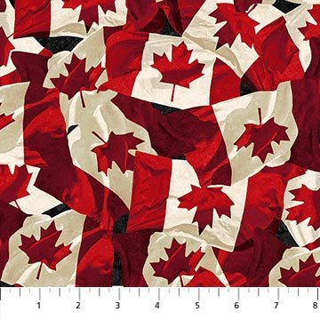 Oh Canada! 8 - Northcott Collection 100% Cotton 45