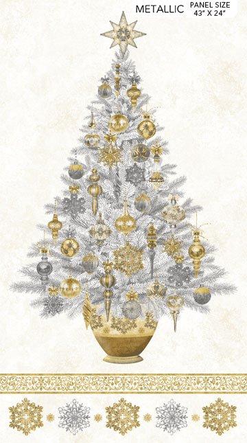 White Christmas - Stonehenge - Northcott Collection