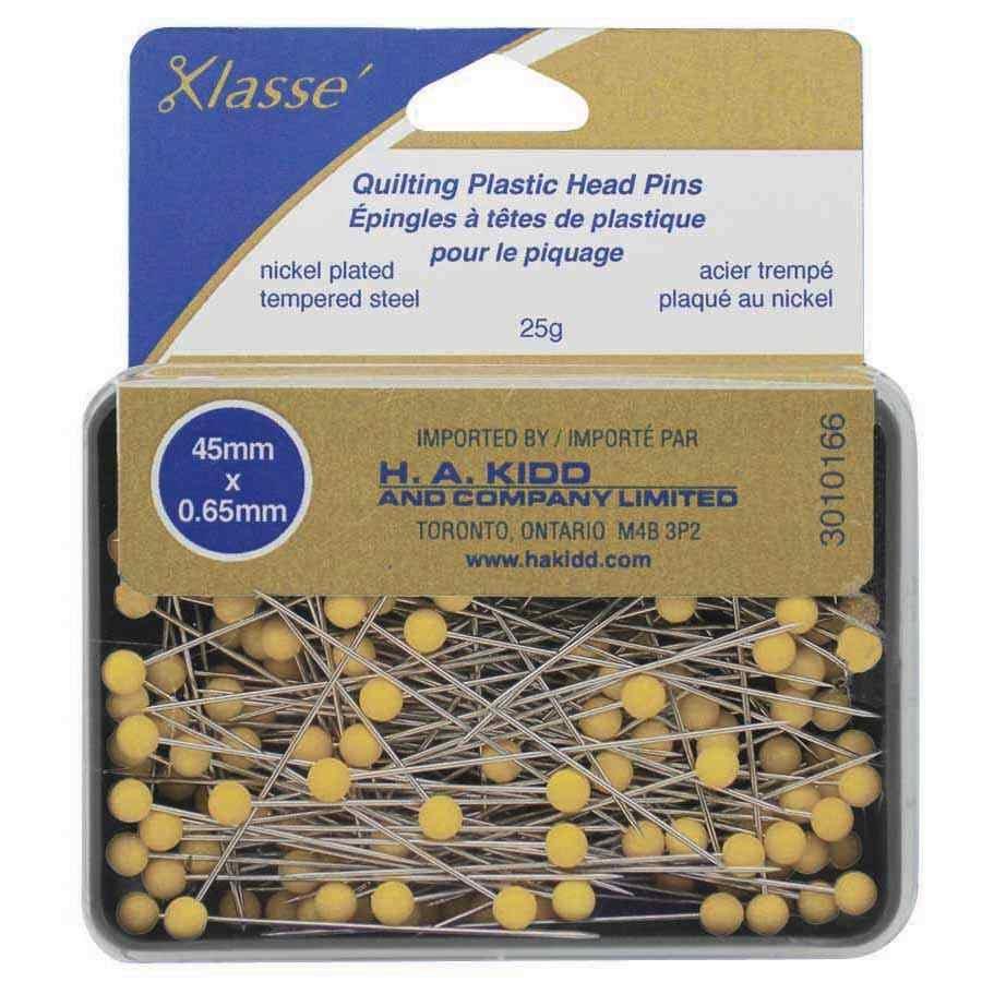 Quilting Plastic Head Pins