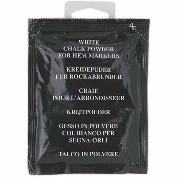 White Chalk Powder for Hem Markers