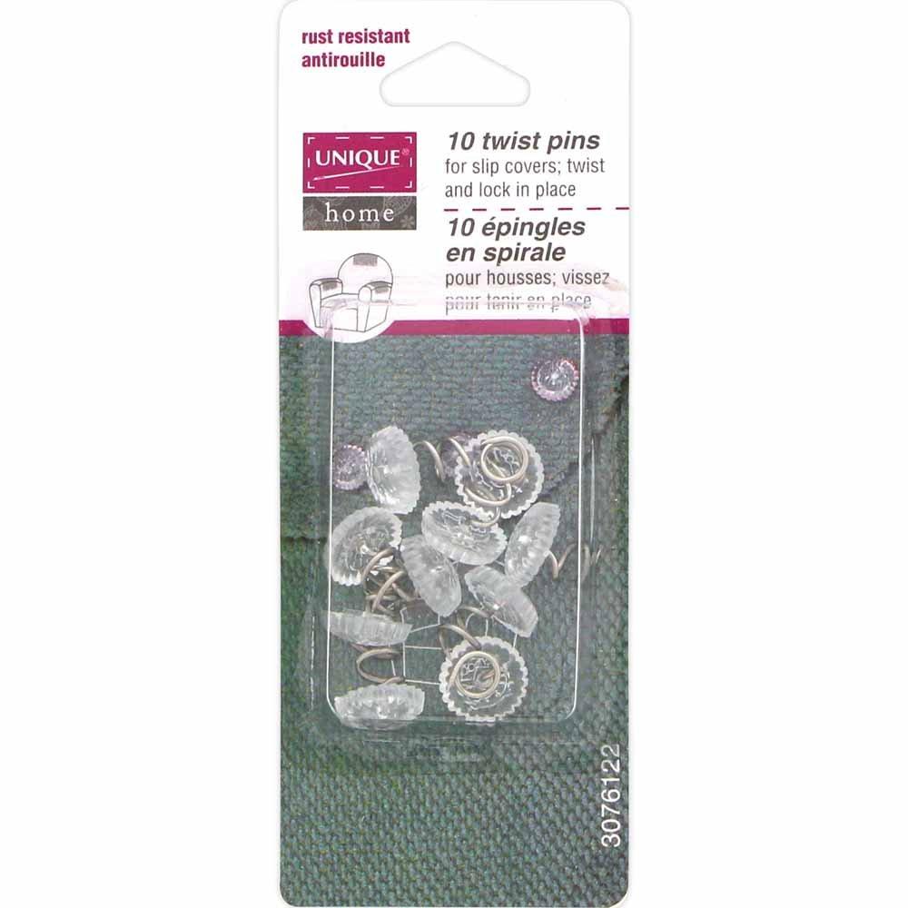 UNIQUE HOME Twist Pins - 10 pcs. - 12mm (1/2)