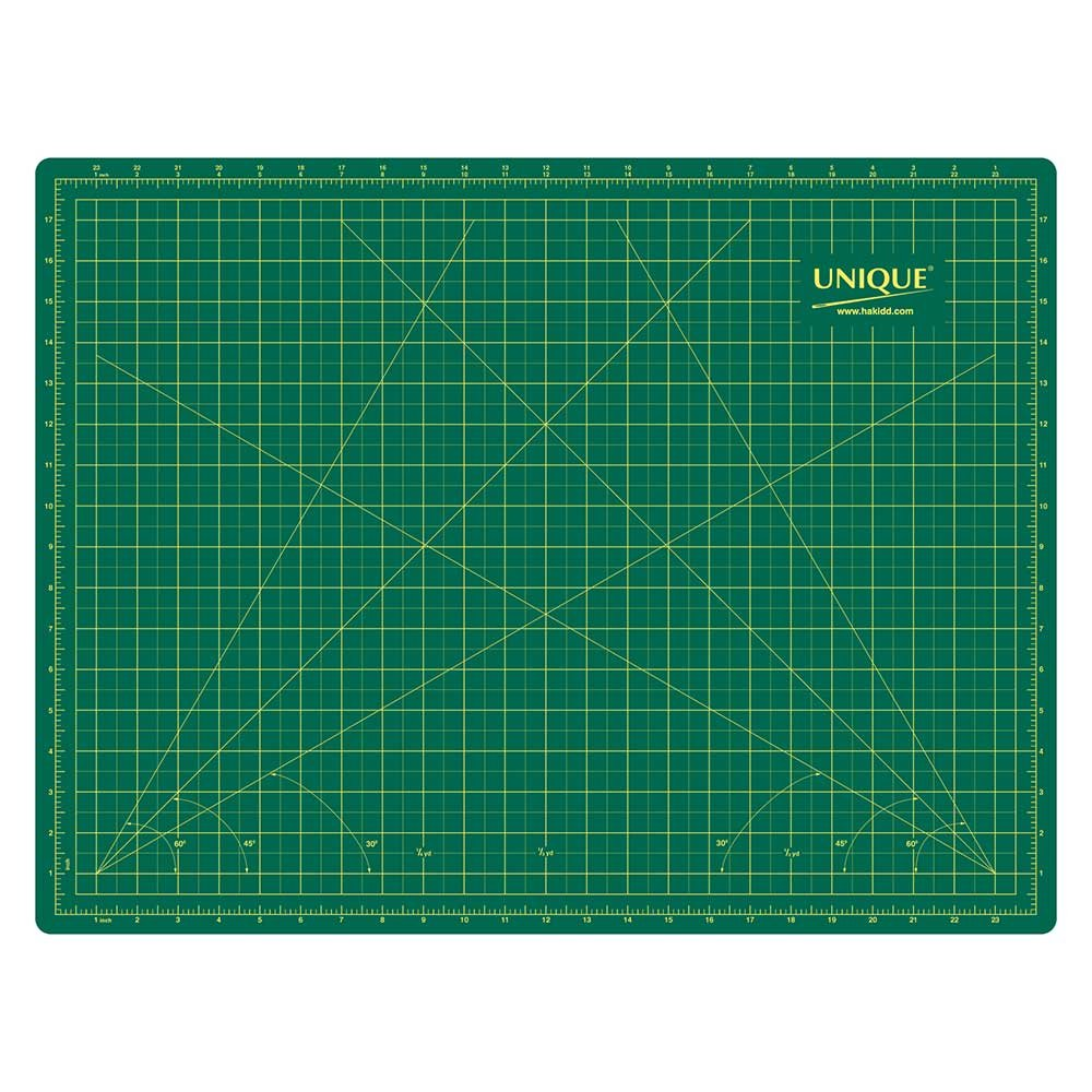 UNIQUE Double Sided Cutting Mat - 18? x 24? (45 x 60cm)