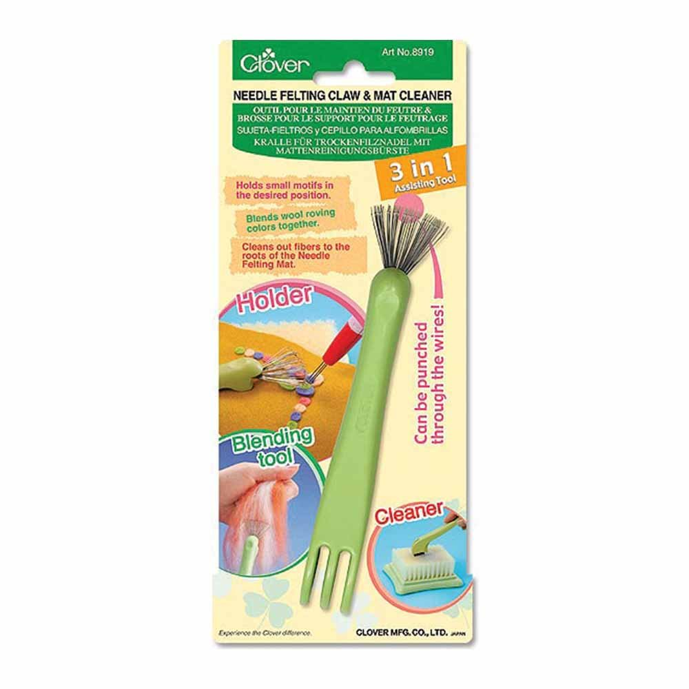 CLOVER 8919 - Needle Felting Claw/Mat Cleaner