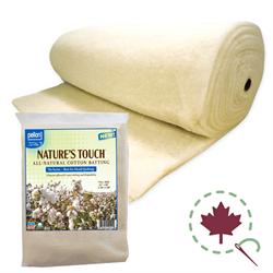 Nature's Touch Cotton Batting - 120