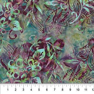 Watercolor Floral - BANYAN BATIKS - Northcott Collection