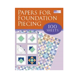 Foundation Piecing Papers - 10 sheets