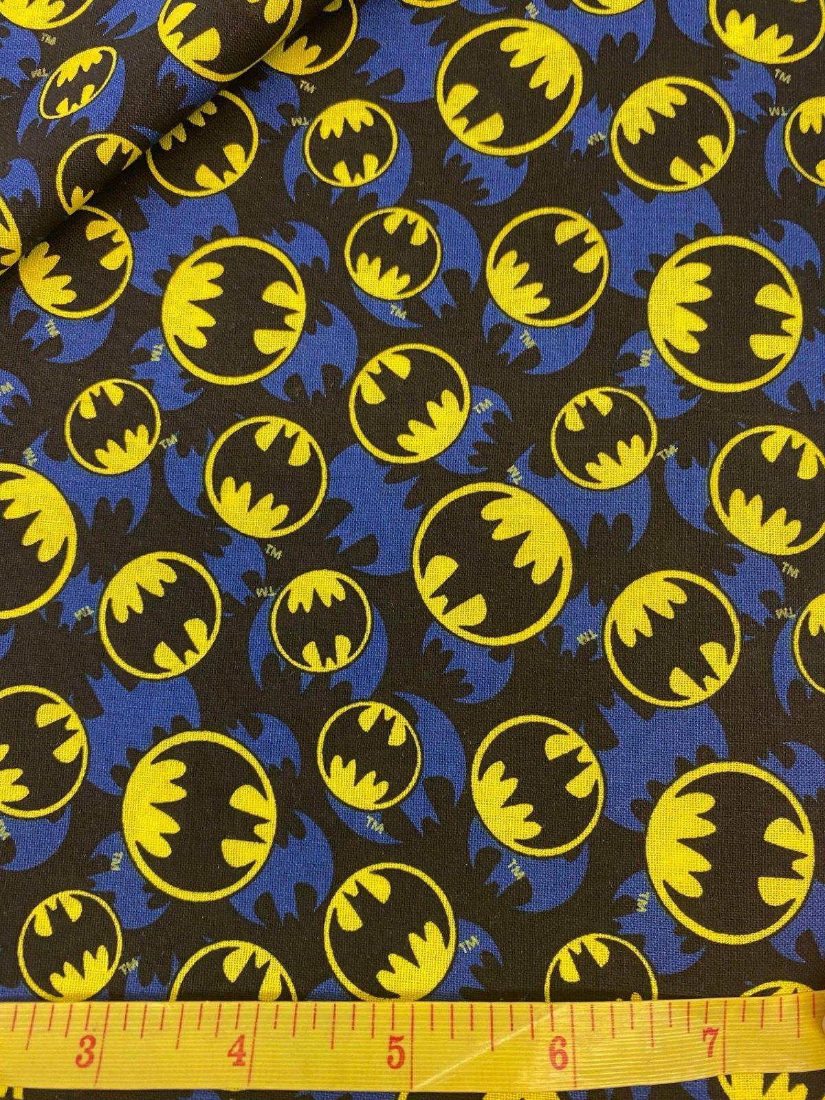 Batman Bat Signal 100% Cotton 45