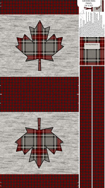My Canada Canvas - Northcott Collection